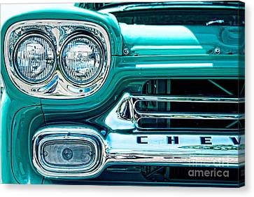 Devil In The Details Canvas Print by Andrew Brooks