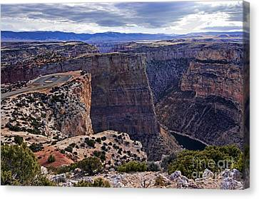 Devil's Overlook Bighorn Canyon National Recreation Area Canvas Print by Gary Beeler