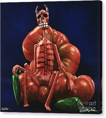 Diablo... Canvas Print by Will Bullas