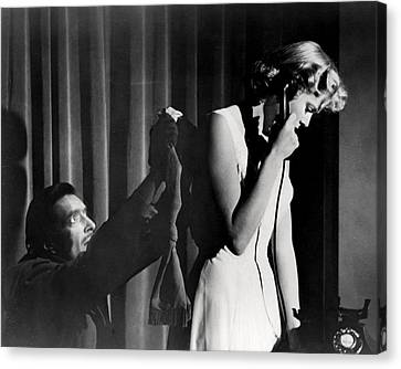 Dial M For Murder  Canvas Print by Silver Screen