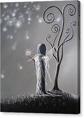 Diamond Fairy By Shawna Erback Canvas Print by Shawna Erback