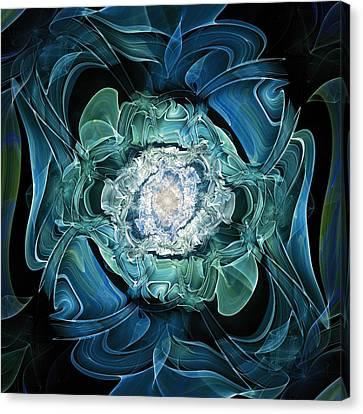 Diamond Nest Canvas Print by Anastasiya Malakhova