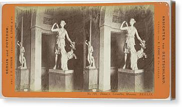 Diana V. Versailles France Museum Berlin Canvas Print by Artokoloro