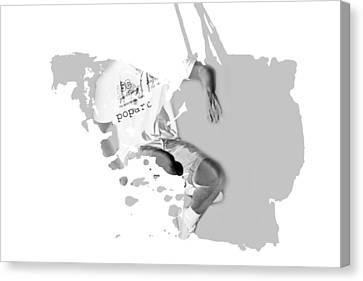 Digital Art Fantasy Guy Floating Canvas Print by Toppart Sweden