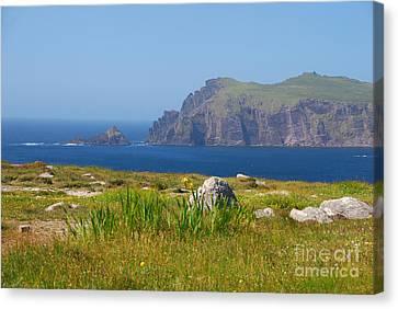 Dingle Coast Canvas Print by Mary Carol Story
