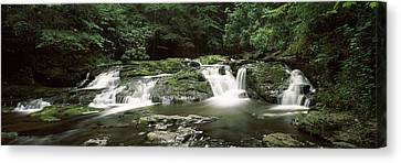 Dingmans Creek Flowing Canvas Print by Panoramic Images