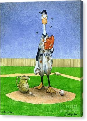Dirty Pitchers... Canvas Print by Will Bullas