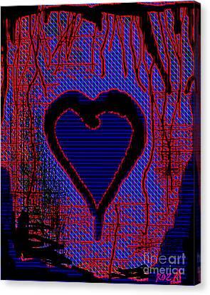Disintegration Canvas Print by Roz Abellera Art