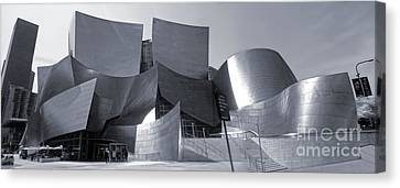 Disney Concert Hall - 02 Canvas Print by Gregory Dyer