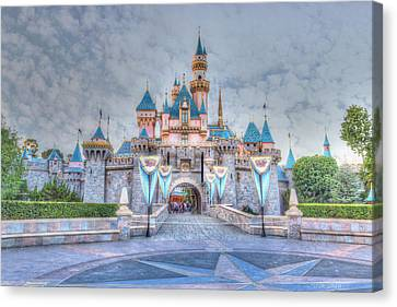 Disney Magic Canvas Print by Heidi Smith