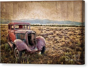 Disused Canvas Print by Delphimages Photo Creations
