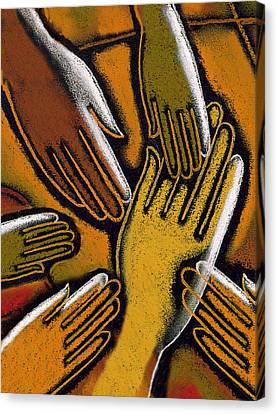 Diversity Canvas Print by Leon Zernitsky