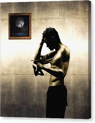 Divide Et Pati - Divide And Suffer Canvas Print by Alessandro Della Pietra