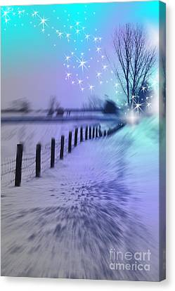 Dividing Chaos With Magic Canvas Print by Cathy  Beharriell