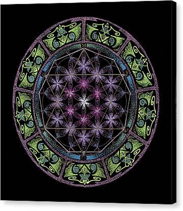 Divine Feminine Energy Canvas Print by Keiko Katsuta