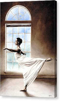 Divine Grace Canvas Print by Richard Young