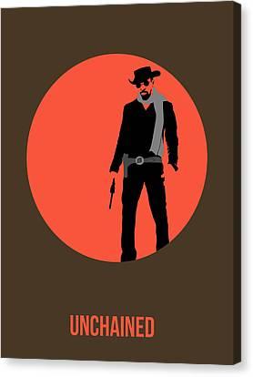 Django Unchained Poster 1 Canvas Print by Naxart Studio