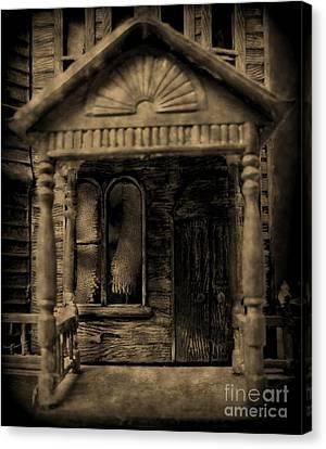 Do Not Enter Canvas Print by John Malone