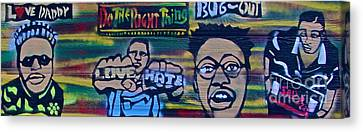 Do The Right Thing Movie Canvas Print by Tony B Conscious