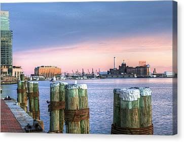 Dockside Canvas Print by JC Findley