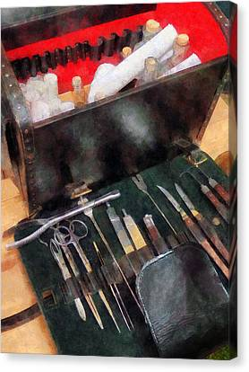Doctor - Civil War Medical Instruments Canvas Print by Susan Savad
