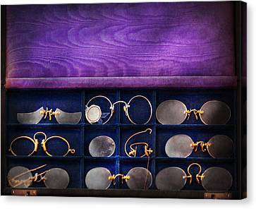 Doctor - Optometrist - Many Styles To Choose From  Canvas Print by Mike Savad