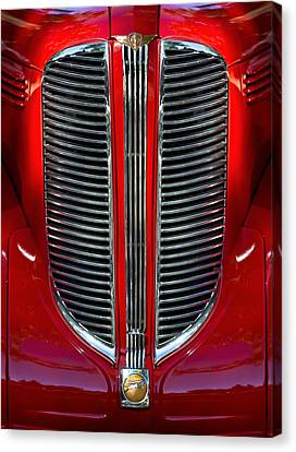 Dodge Brothers Grille Canvas Print by Jill Reger
