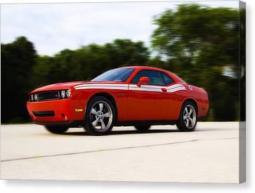 Dodge Challenger Canvas Print by Bill Cannon