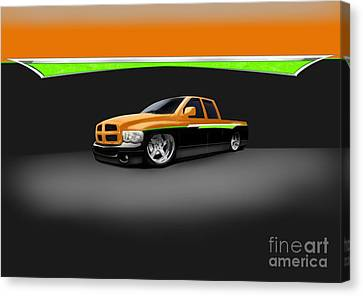 Dodge Canvas Print by Frankie Thorpe