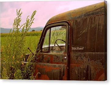 Dodge Canvas Print by Jennie Kilcullen