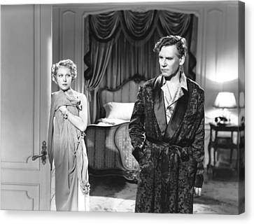 Dodsworth, From Left, Ruth Chatterton Canvas Print by Everett