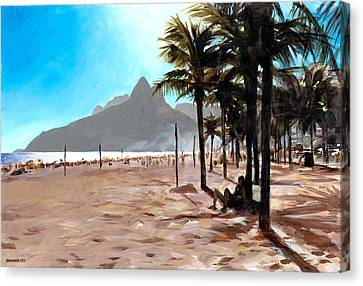 Dois Irmaos Canvas Print by Douglas Simonson