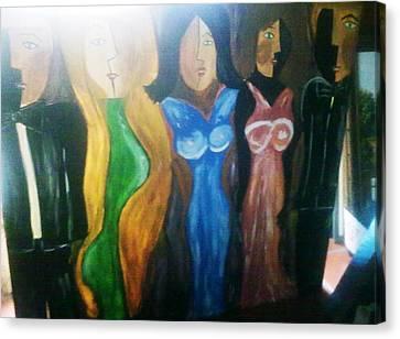 Dolls Canvas Print by Vickie Meza