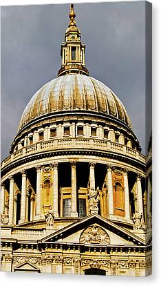 Dome Of St. Paul's Cathedral Canvas Print by Christi Kraft
