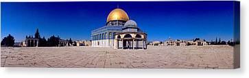 Dome Of The Rock, Temple Mount Canvas Print by Panoramic Images
