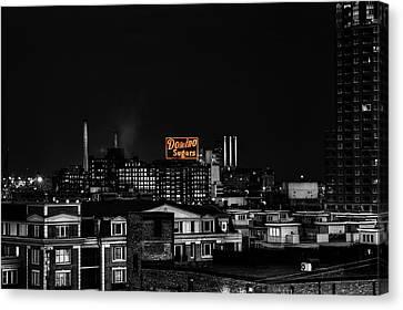 Domino Sugar Canvas Print by Rob Dietrich