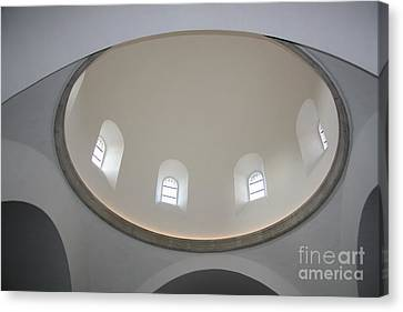 Domkirke's Dome Canvas Print by Juan Romagosa