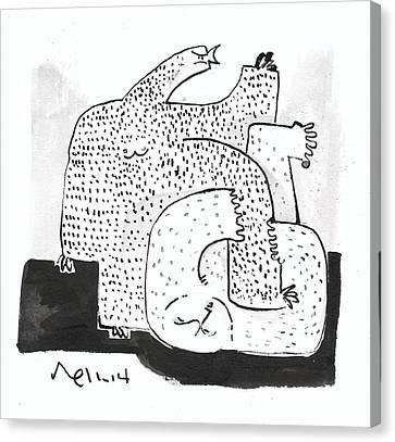 Domos No.3  Canvas Print by Mark M  Mellon