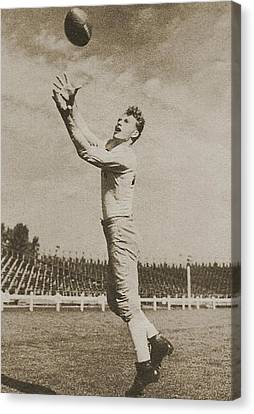 Don Hutson Canvas Print by Gianfranco Weiss