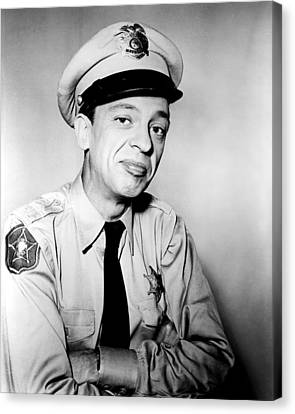 Don Knotts In The Andy Griffith Show  Canvas Print by Silver Screen