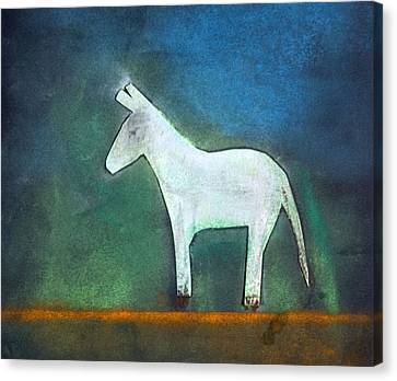 Donkey, 2011 Oil On Canvas Canvas Print by Roya Salari