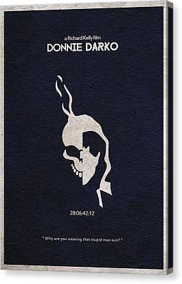 Donnie Darko Canvas Print by Ayse Deniz