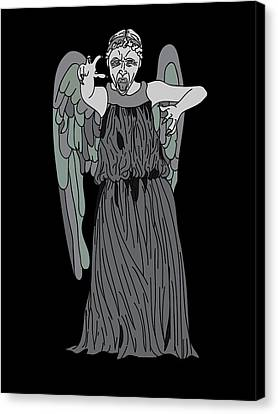 Dont Blink Canvas Print by Jera Sky