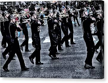 Don't Let The Parade Pass You By Canvas Print by Bill Cannon