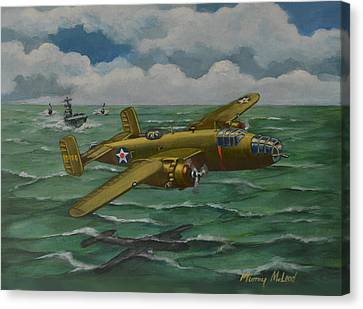 Doolittle Raider 2 Canvas Print by Murray McLeod