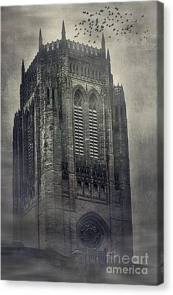 Doomed Castle Canvas Print by Svetlana Sewell