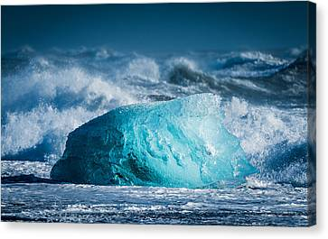 Doomed - Iceland Coast Photograph Canvas Print by Duane Miller
