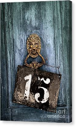 Door 15 Canvas Print by Carlos Caetano