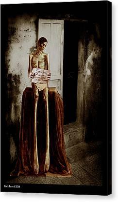 Door Prize Canvas Print by Roch  Fautch