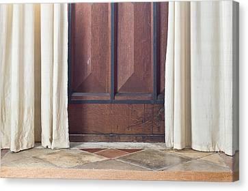 Door  Canvas Print by Tom Gowanlock